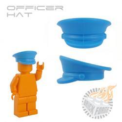 Officer Hat - Azure