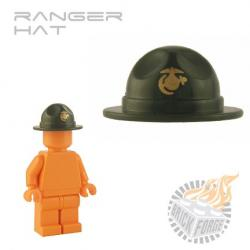 Ranger Hat - Army Green (gold USMC ensignia)