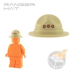 Ranger Hat - Tan w/ grommets