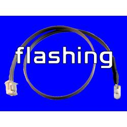 6 inch LED Cable - Flashing Blue