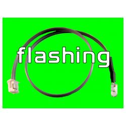 6 inch LED Cable - Flashing Green