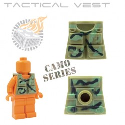 Tactical Vest - Olive Green (camouflage)