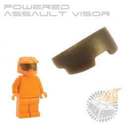 Powered Assault Visor - Bronze