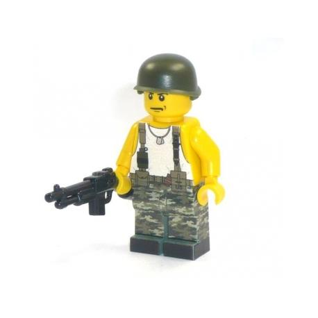 GI Soldier with BAR
