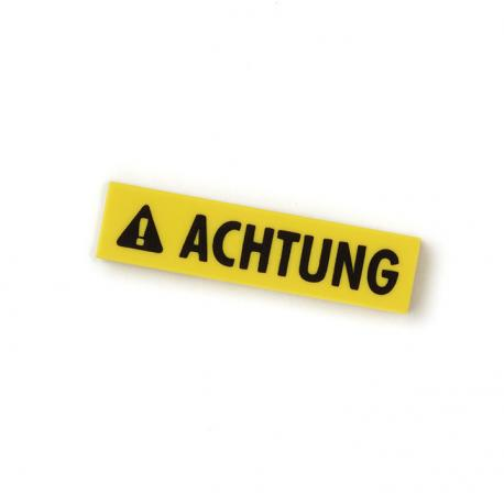 Achtung Tile (Yellow)
