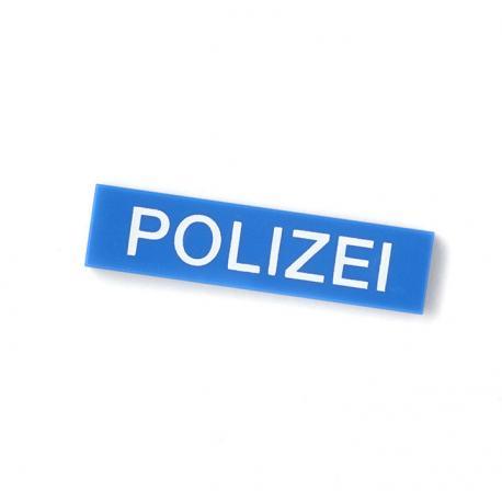 German Police Tile (Blue)