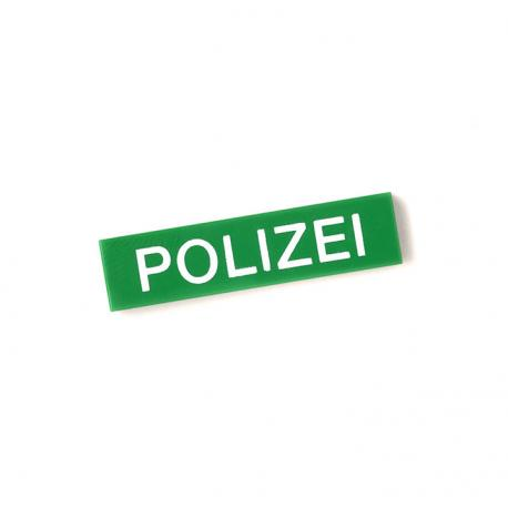 German Police Tile (Green)