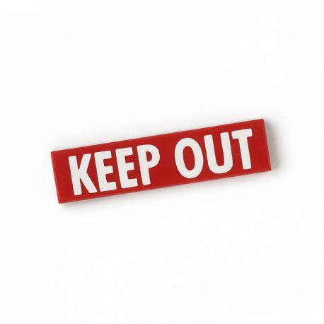 Keep Out Tile (Red)