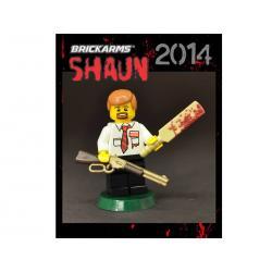 BrickArms Shaun UK Zombie Fighter 2014