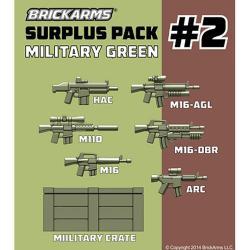 Surplus Pack 2 - Military Green