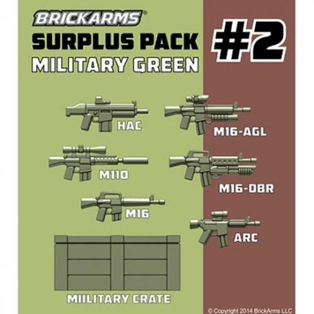 Surplus Pack 2 - Military Green