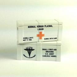 US Red Cross Crate (White)