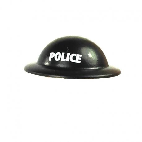 Casque Brodie - Noir POLICE