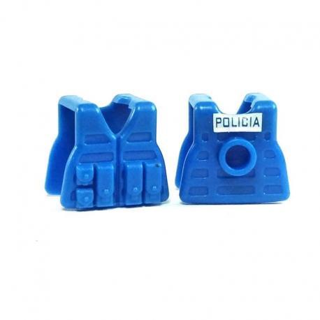 Lightweight Combat Vest - RECON Blue / POLICIA PRINT