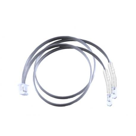 6 inch LED Y Cable - White