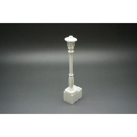 White Lamp Post (attached) - White