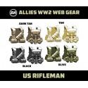 US Rifleman - WW2 Web Gear