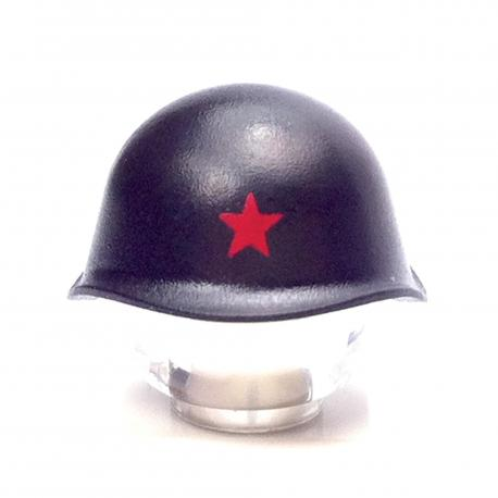 SSh-40 Russian Helmet + RED STAR