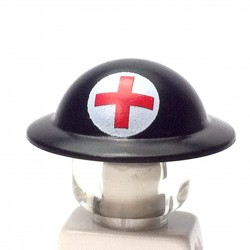 Casque anglais Brodie - Croix Rouge