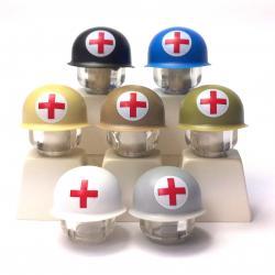 US M1 Helm - Rotes Kreuz