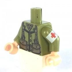 American Infantry Torso (Medic) - OLIVE