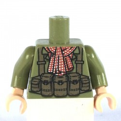 NVA (Infantry) Torso with scarf