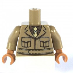 American Officer minifig torso