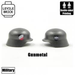 Netted Brickarms Stahlhelm