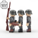 Patrouille de soldats allemands WW1