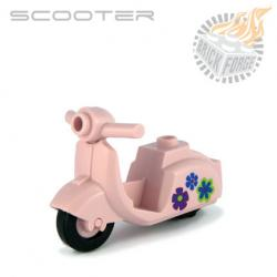 Scooter - Pink (Flower print)