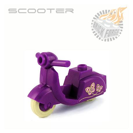 Scooter - Purple (Butterfly print)