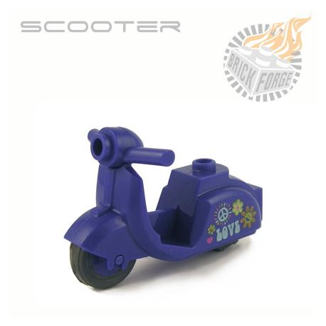 Scooter - Violet (Hippie print)