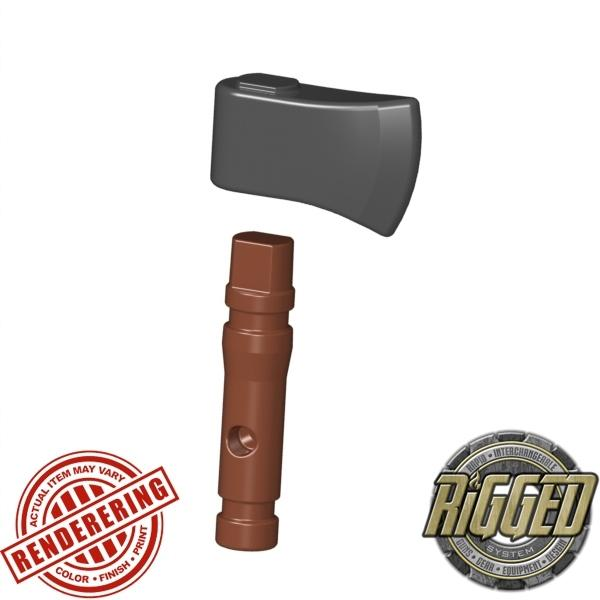 Reddish Brown (Steel) hatchet
