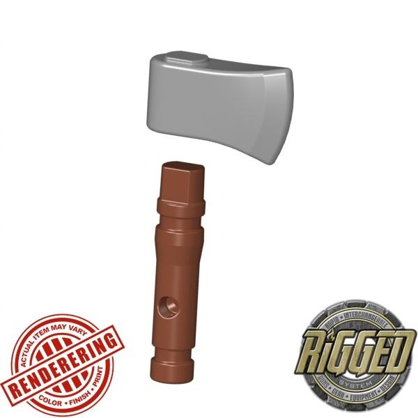 Reddish Brown (Silver) hatchet