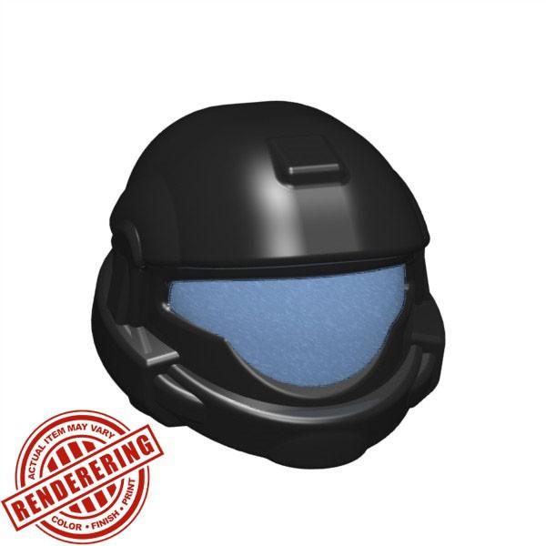 Black (cobalt visor print)