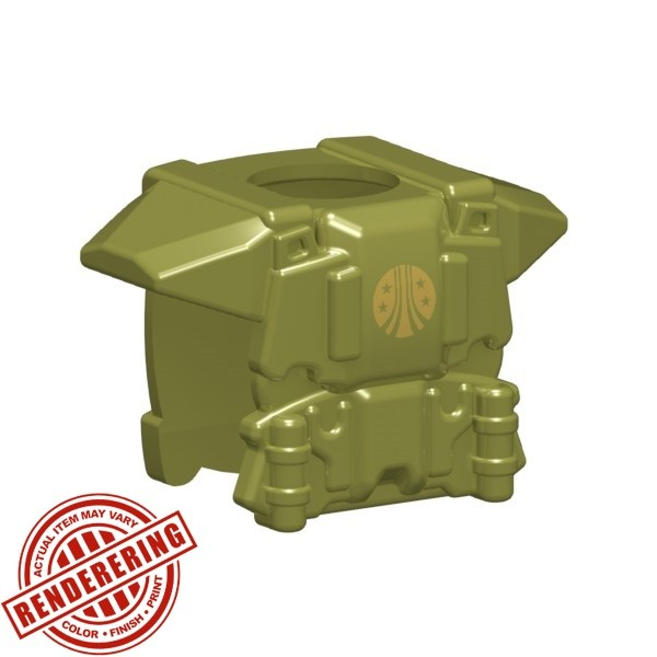 Olive Green (gold CMC emblem)