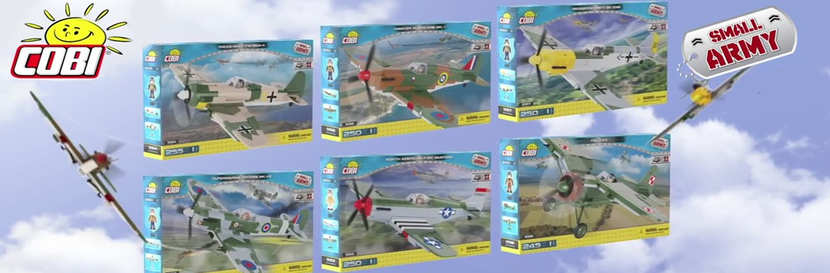 Cobi Airplane Collection