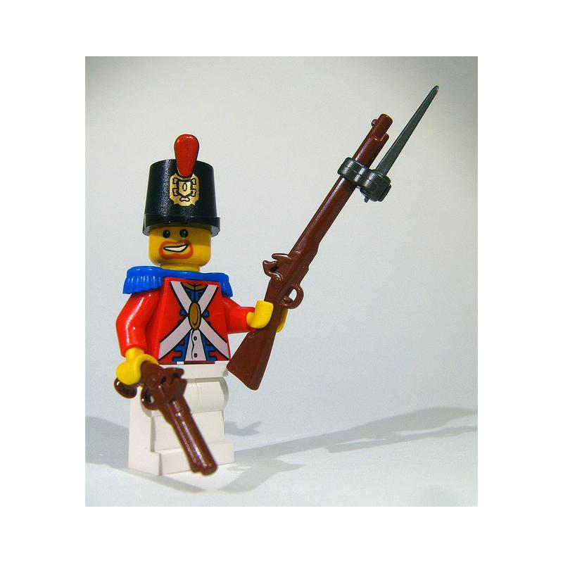 how to make a lego pistol for minifigs