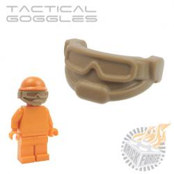Tactical Goggles - Dark Tan