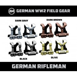 German Rifleman - WW2 Field Gear