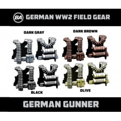 German Gunner - WW2 Field Gear