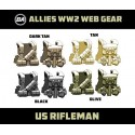 US Rifleman - WW2 Web Gear