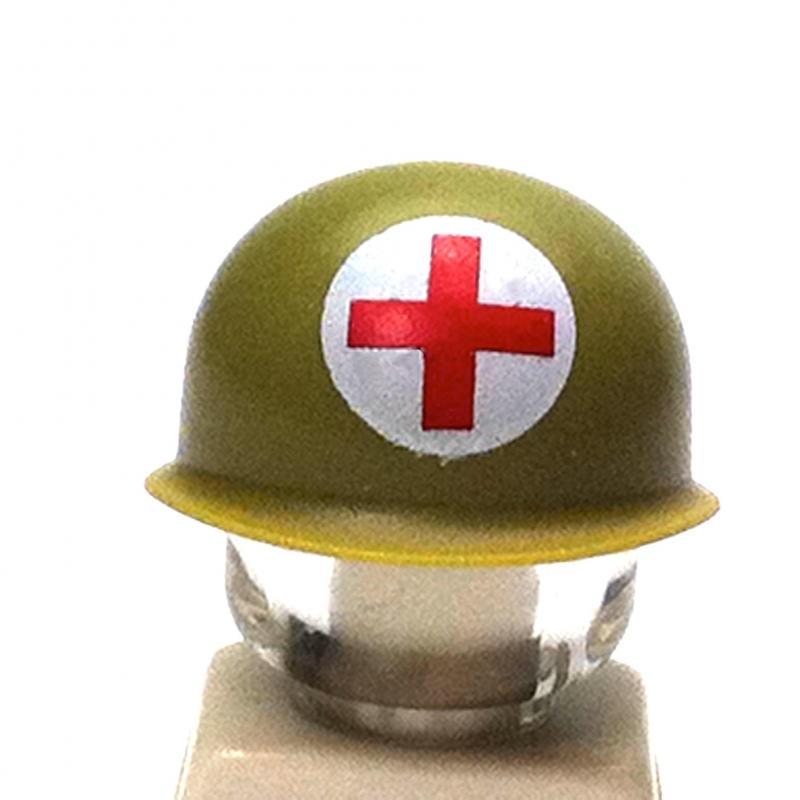 Casque Us M1 Croix Rouge