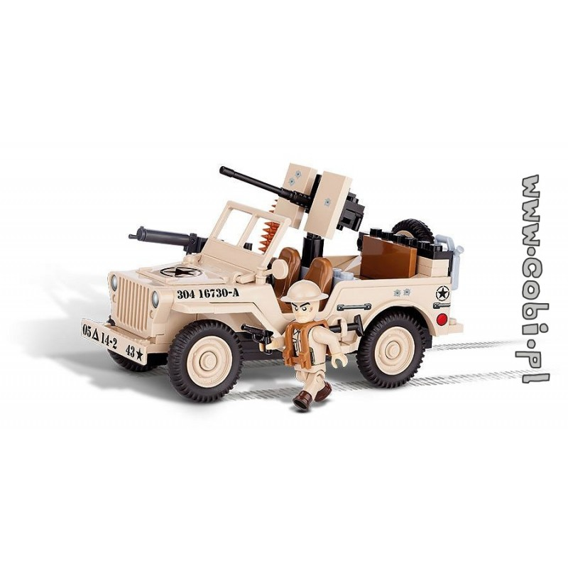 Cobi Jeep Willys Mb North Africa 1943