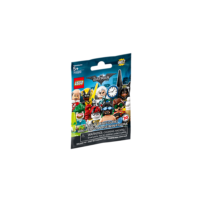 Minifig 2 Film Série Batman Le Clock Lego King 7bg6yf