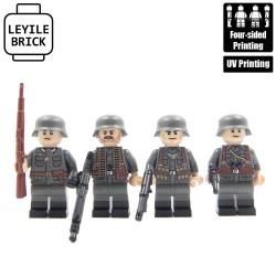 Patrouille allemande WW2