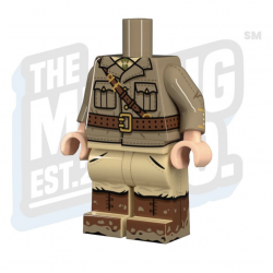 British Officer minifig Body
