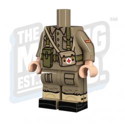 WW2 British Medic Body