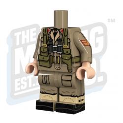 WW2 British officer body