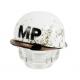 US MP M1 Steelpot (White/Distressed)